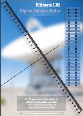 ULRS Dipole Antenna Ruler