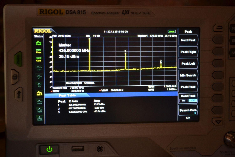 rfm23bp harmonics module OK