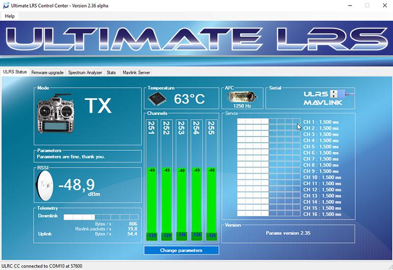 2016-07-15 07_00_19-Ultimate LRS Control Center - Version 2.29 beta