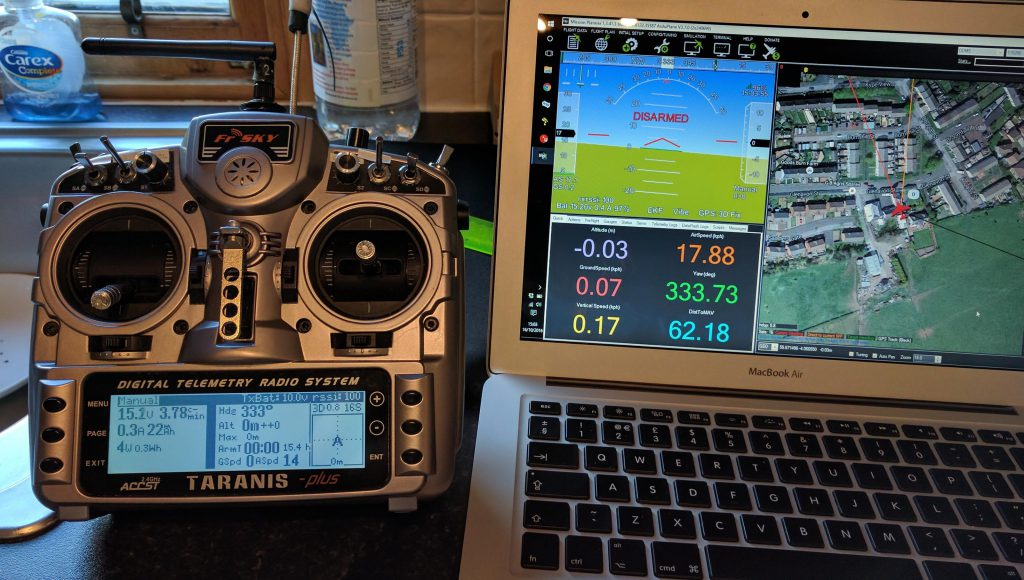 Ultimate LRS telemetry on Taranis | IT Luxembourg