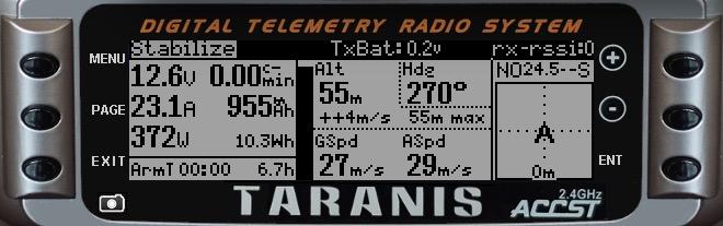 Ultimate LRS telemetry on Taranis   IT Luxembourg