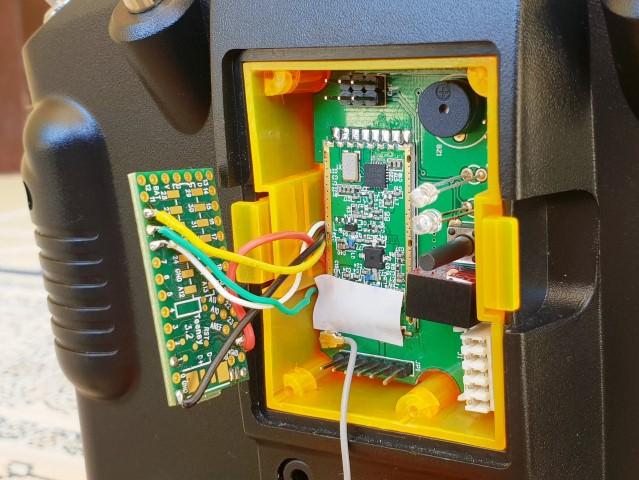 Ultimate LRS telemetry on Taranis | IT Luxembourg